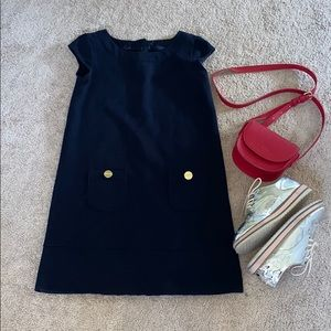 Gap elegant blue dress